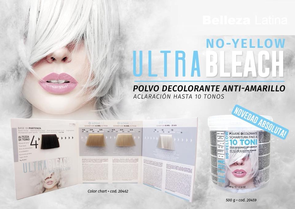 DECOLORACION ULTRA BLEACH 10 tonos 500ml Kaypro | Beauty Profesional