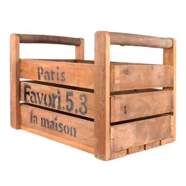caja maera vintage